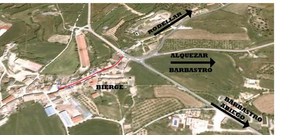 mapa bierge