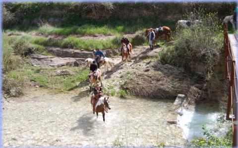 excursiones a caballo sierra guara